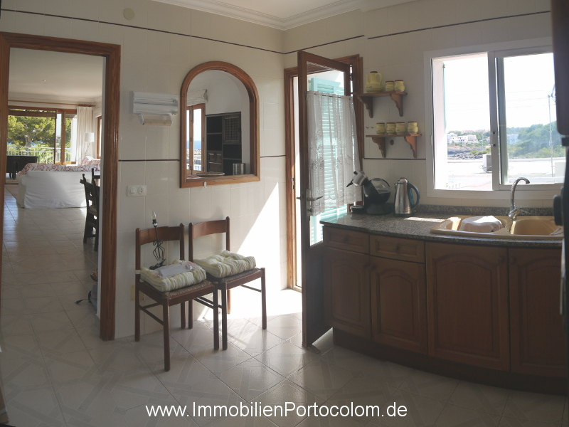 Apartment with ocean view Portocolom kitchen2 12718
