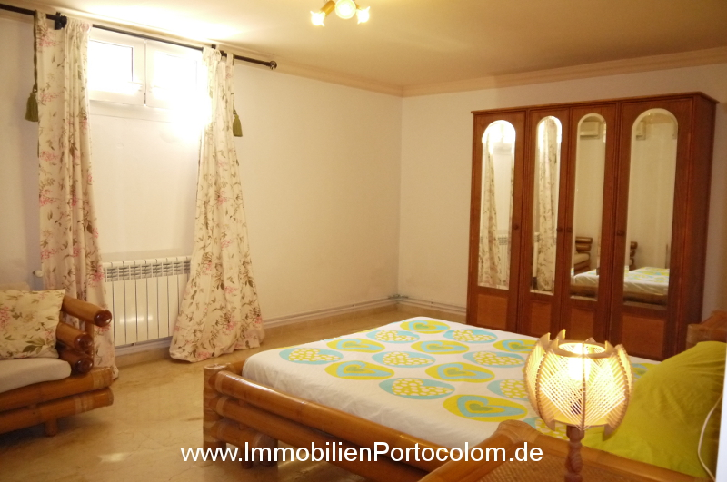 Chalet in Portocolom bedroom2 downstairs 11719