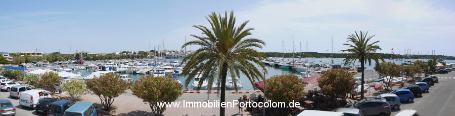 Apartment Portocolom first habor line view1 10616