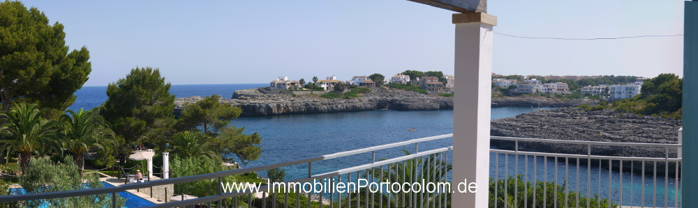 Apartment with ocean view Portocolom terrace2 12718
