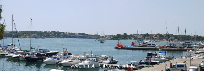 Apartment 1. line Portocolom harbor view 7715
