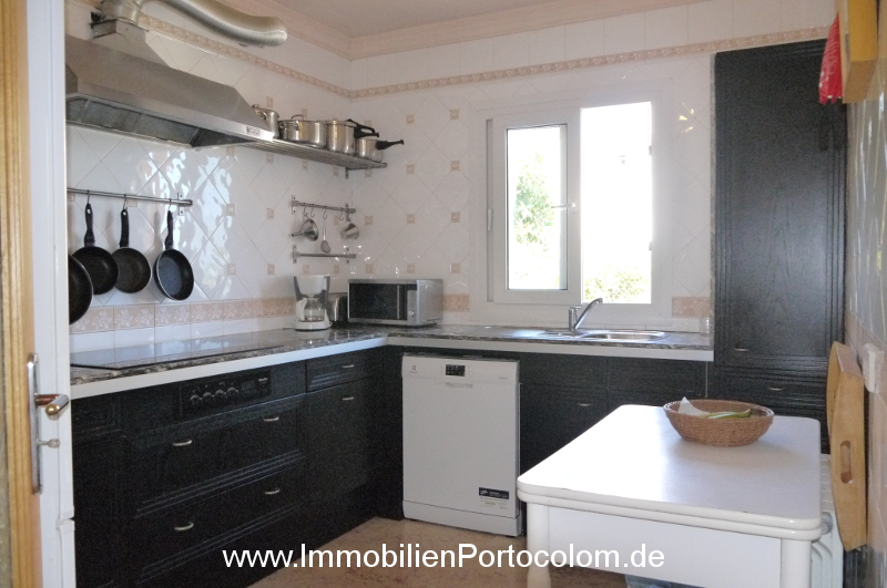 Chalet in Portocolom kitchen 11719