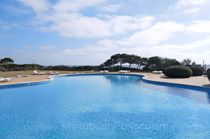 Property Ground floor flat in the Cala Brafi - Apartment with garden and pool in Portocolom
