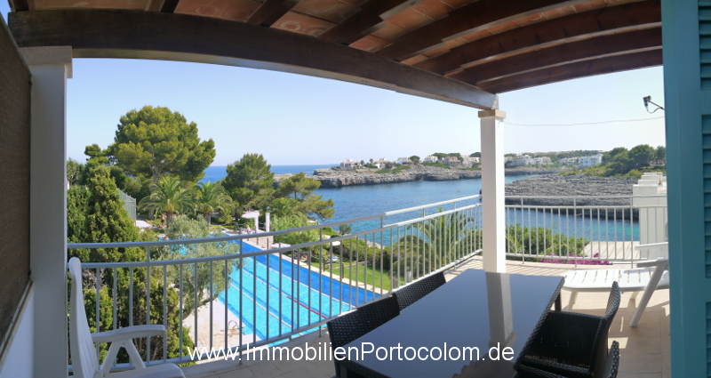Apartment with ocean view Portocolom terrace 12718