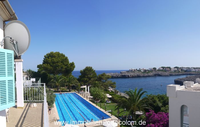 Apartment with ocean view Portocolom Cala Marcal2 12718