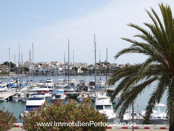 Apartment Portocolom first habor line view 10616