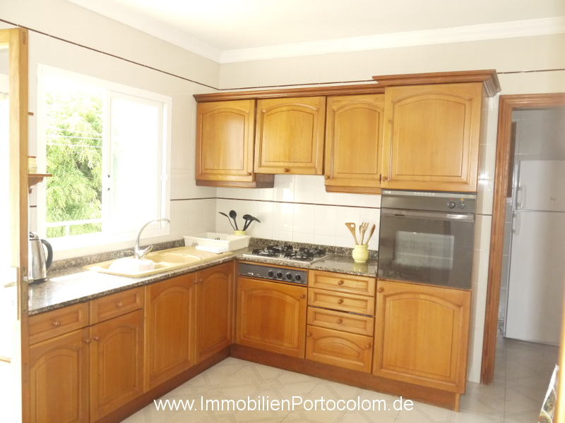 Apartment with ocean view Portocolom kitchen 12718