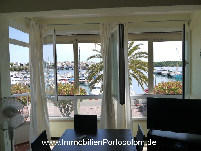 Apartment Portocolom first habor line View window 10616