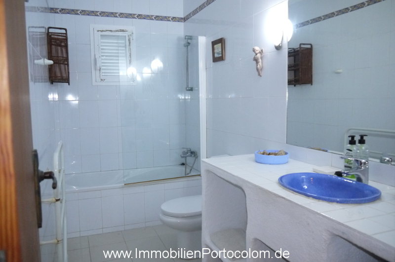 Ground floor apartment Sa Punta Portocolom bathroom 21219