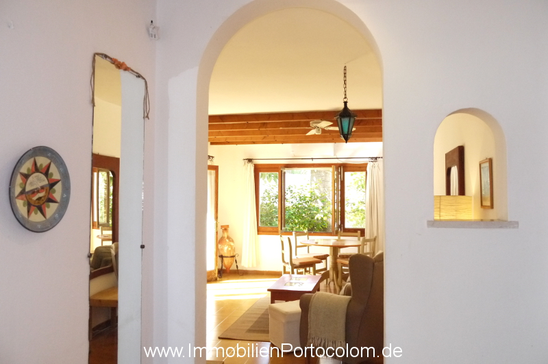 Ground floor apartment Sa Punta Portocolom entrance 21219