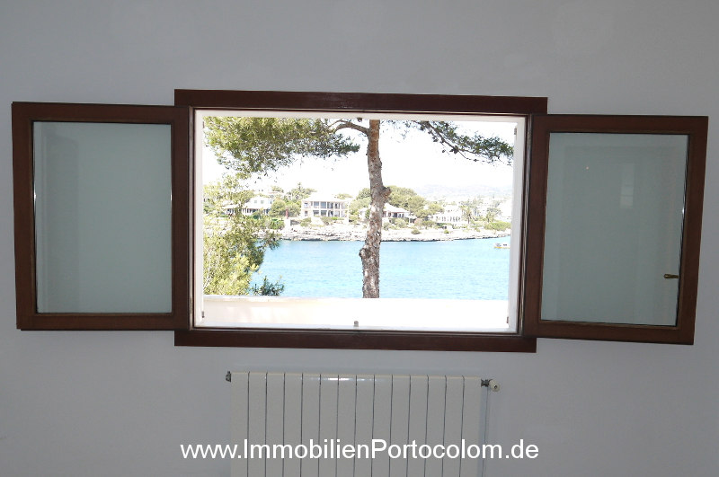 Chalet 1. line Sa Punta Portocolom apartment1 bedroom window view 27619