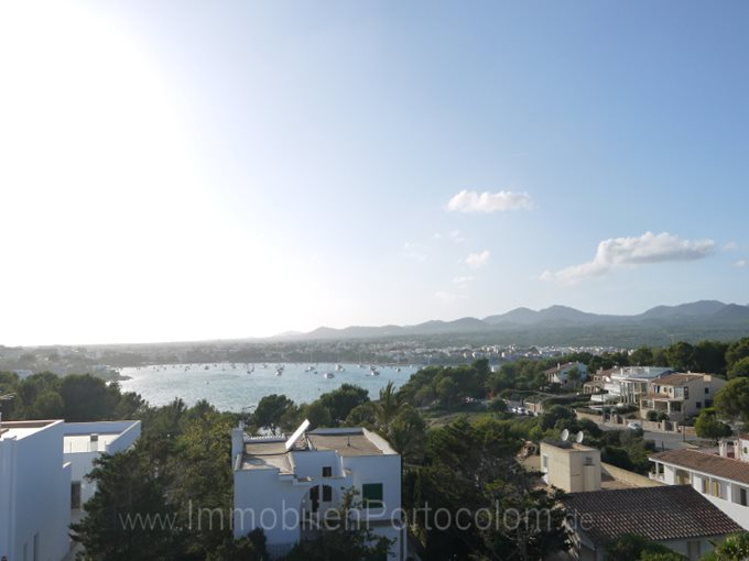 Property Duplex apartment on Sa Punta - Apartment with view to the harbour of Porto Colom