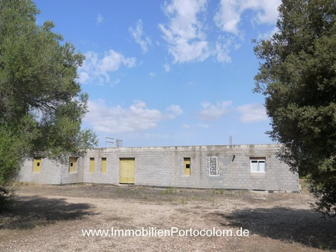 Property Finca in construction in Felanitx - Finca in Son Negre