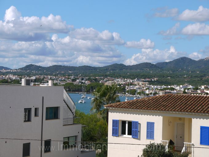 Property Apartment close to the beach of Sa Punta  - Flat with view to the harbour of Portocolom