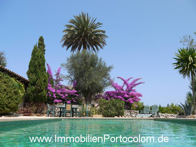Property Finca close to Manacor - Finca with pool in the east of Mallorca