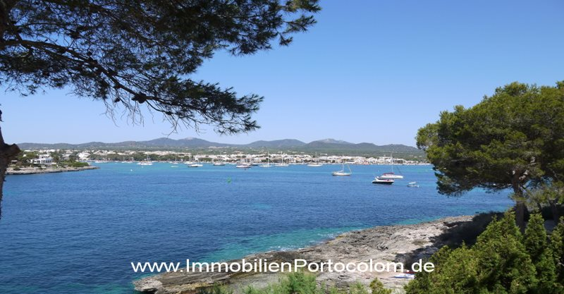 Chalet in 1. line of Sa Punta, Portocolom - House in 1. ocean line with fantastic harbor views