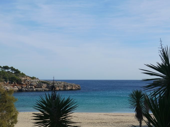 Property Restaurant, bar in 1st line of Portocolom - Gastronomy at the beach of Cala Marcal, Portocolom