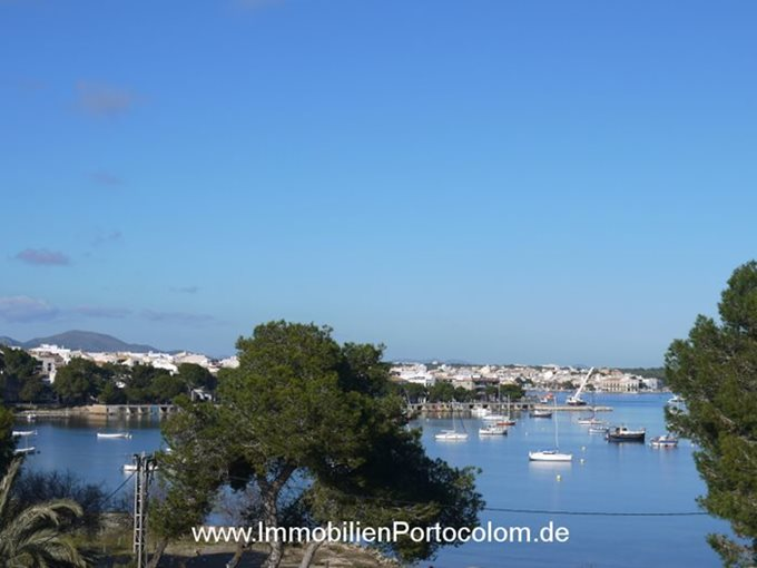 Property Apartment in first line of Portocolom - Flat with harbor view in Porto Colom
