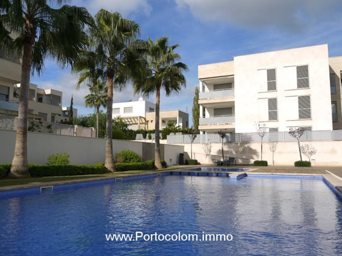 Property Ground floor apartment in Portocolom - Flat in residential complex in Portocolom